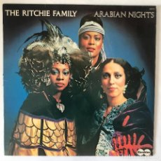 Discos de vinilo: THE RITCHIE FAMILY ARABIAN NIGHTS 1976. Lote 113213959