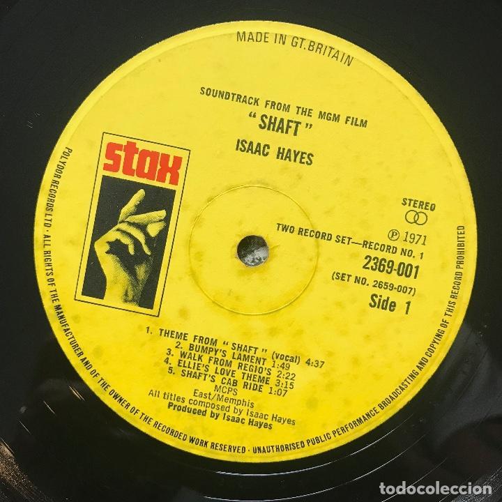 Discos de vinilo: UK 1971 Muy difícil —-Gordon Parks – Shaft's Big Score! ( 1RA EDICION ) no oficial ( selló stax) - Foto 4 - 113215695