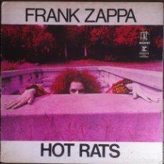 Discos de vinilo: FRANK ZAPPA. HOT RATS - 1971 - BIZARRE/REPRISE K44708 (6356). EDICIÓN INGLESA.. Lote 113215827