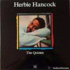Discos de vinilo: HERBIE HANCOCK * LP SPAIN PORTADA EXCLUSIVA1989 * PROMOCIONAL * THE QUINTET * SIN PINCHAR. Lote 113215935