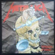 Discos de vinilo: METALLICA. HARVESTER OF SORROW. LANGUAGE OF THE MAD (EP 45 RPM. VINILO VERTIGO 1988). Lote 113646424