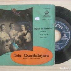 Discos de vinilo: TRIO GUADALAJARA - PEPITA DE MALLORCA - EP ESPAÑOL - ODEON. Lote 113238103