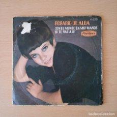 Discos de vinilo: ROSARIO DE ALBA 1970 CON EL MUNDO EN MIS MANOS / SI TE VAS A IR - SINGLE PEERLESS. Lote 113243907