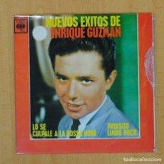 Discos de vinilo: ENRIQUE GUZMAN CON LOS SALVAJES - LO SE + 3 - EP. Lote 113247134