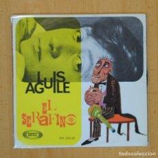 Discos de vinilo: LUIS AGUILE - EL SERAFINO / L´AMOUR - SINGLE. Lote 113248798
