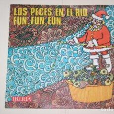 Discos de vinilo: VILLANCICOS (LOS PECES EN EL RÍO + FUM FUM) *** SINGLE VINILO (1968) *** IBERIA ***. Lote 113249479