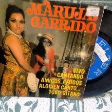 Discos de vinilo: E P (VINILO) DE MARUJA GARRIDO AÑOS 60. Lote 113251491