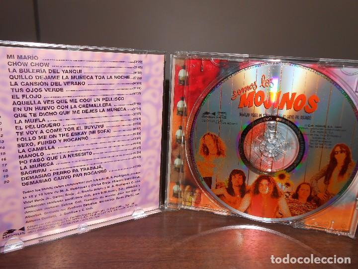 Discos de vinilo: CD SOMOS LOS MOJINOS ESCOZIOS. 20 TEMAS. - Foto 2 - 113254643