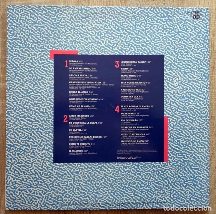 Discos de vinilo: ROCÍO JURADO ¨HASTA LA ÚLTIMA GOTA¨ DOBLE CARPETA 2 LP - Foto 2 - 113254931