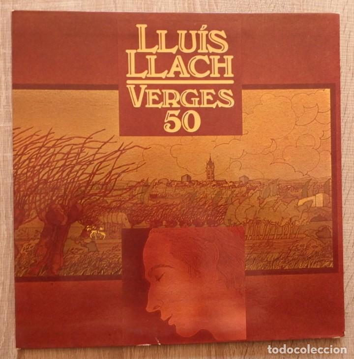 LLUIS LLACH ¨VERGES 50¨ (Música - Discos - LP Vinilo - Cantautores Españoles)