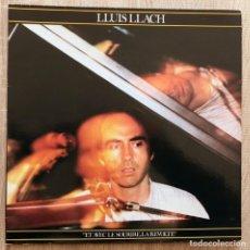 Discos de vinilo: LLUIS LLACH ¨ET AVEC LE SOURIRE,LA REVOLTE¨. Lote 113255455