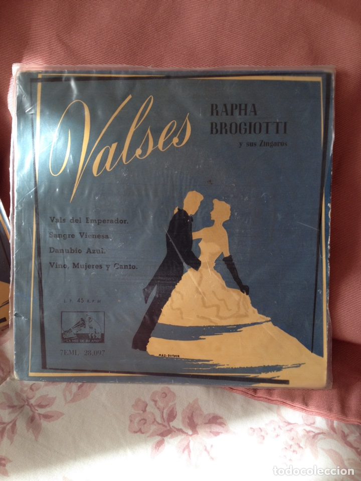 Discos de vinilo: Valses Rapha Brogiotti y sus Zingaros - Foto 3 - 113211176