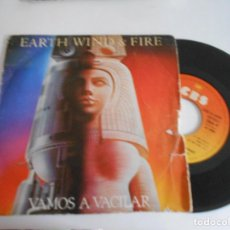 Discos de vinilo: EARTH WIND & FIRE-SINGLE LET'S GROOVE. Lote 113270503