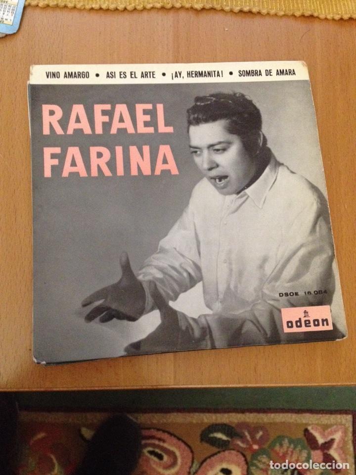 RAFAEL FARINA SINC (Música - Discos - Singles Vinilo - Flamenco, Canción española y Cuplé)