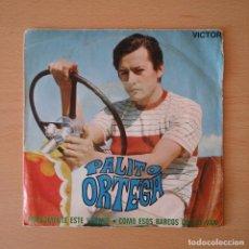 Discos de vinilo: PALITO ORTEGA 1970 NUEVAMENTE ESTE VERANO / COMO ESOS BARCOS QUE SE VAN - SINGLE RCA VICTOR. Lote 113278243