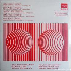 Discos de vinilo: ALFONSO SANTISTEBAN – SPANISH MOOG - LP SPAIN 2017 (RE) - ADARCE RECORDS ADC.005 - MINT / SEALED. Lote 197560377