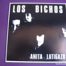 Discos de vinilo: LOS BICHOS EP OIHUKA 1988 ANITA LATIGAZO/ COLOUR HITS/ BLACK BLOOD NIGHTMARE - JOSETXO . Lote 113292511