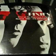Discos de vinilo: MUSICA LP: PIXIES LIVE AT THE EMERSON BOSTON 1987 FM BROADCAST PRECINTADO VINYL. Lote 113297707