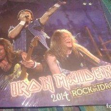 Discos de vinilo: IRON MAIDEN - 2014 ROCK IN IDRO - 2 LPS. Lote 113304795