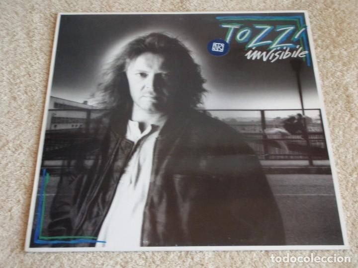 UMBERTO TOZZI ( INVISIBILE ) 1987 - FINLANDIA LP33 CGD (Música - Discos - LP Vinilo - Pop - Rock - New Wave Extranjero de los 80)