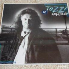 Discos de vinilo: UMBERTO TOZZI ( INVISIBILE ) 1987 - FINLANDIA LP33 CGD. Lote 113312951