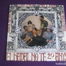 Discos de vinilo: MARIA DEL MAR BONET + LLUIS LLACH + PAU RIBA + AMELIA PEDREROL EP CONCENTRIC - NADAL NO TE 20 ANYS. Lote 113315091