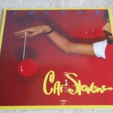 Discos de vinilo: CAT STEVENS ( IZITSO ) 1977 - ENGLAND LP33 ISLAND RECORDS. Lote 113316679