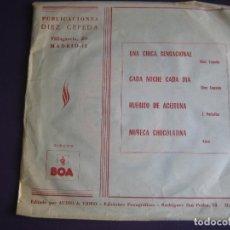 Discos de vinilo: CONJUNTO LOS CORALES EP BOA AUDIO VIDEO 1975 - UNA CHICA SENSACIONAL +3 DIAZ CEPEDA . Lote 113318439