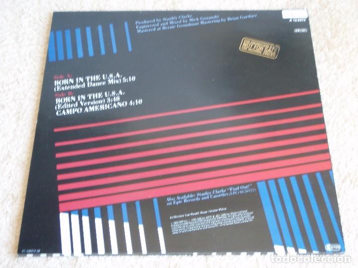 Discos de vinilo: THE STANLEY CLARKE BAND ( BORN IN THE U.S.A. 2 VERSIONES - CAMPO AMERICANO ) 1985-HOLANDA MAXI - Foto 2 - 113320539