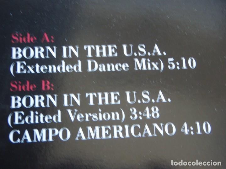 Discos de vinilo: THE STANLEY CLARKE BAND ( BORN IN THE U.S.A. 2 VERSIONES - CAMPO AMERICANO ) 1985-HOLANDA MAXI - Foto 3 - 113320539