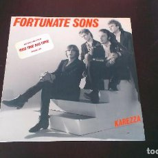 Discos de vinilo: LP FORTUNATE SONS KAREZZA GARAGE ROCK POWER POP 80'S. Lote 113321163