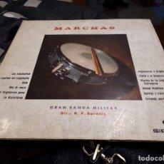 Discos de vinilo: LP MARCHAS MILITARES RARO . Lote 113321359