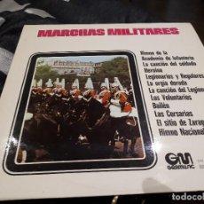 Discos de vinilo: LP MARCHAS MILITARES. Lote 113321407