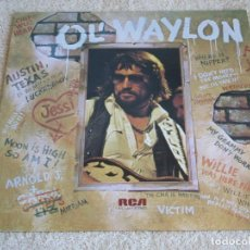 Discos de vinilo: WAYLON JENNINGS ( OL' WAYLON ) USA - 1977 LP33 RCA VICTOR. Lote 113321631