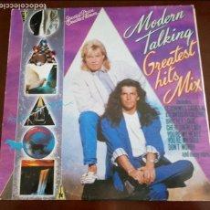 Discos de vinilo: MODERN TALKING - GREATEST HITS MIX - DOBLE 2 LP - 1988. Lote 113327463