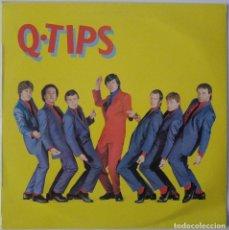 Discos de vinilo: THE Q TIPS..Q TIPS.(CHRYSALIS 1980).SPAIN.. Lote 113333927