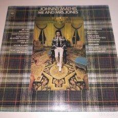 Discos de vinilo: JOHNNY MATHIS - ME AND MRS. JONES (LP, ALBUM) . Lote 113352403
