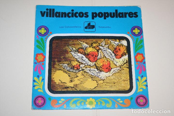 VILLANCICOS POPULARES: LOS CAMPANILLEROS + SATATUMBA *** SINGLE VINILO (1971) *** DIM *** (Música - Discos - Singles Vinilo - Otros estilos)