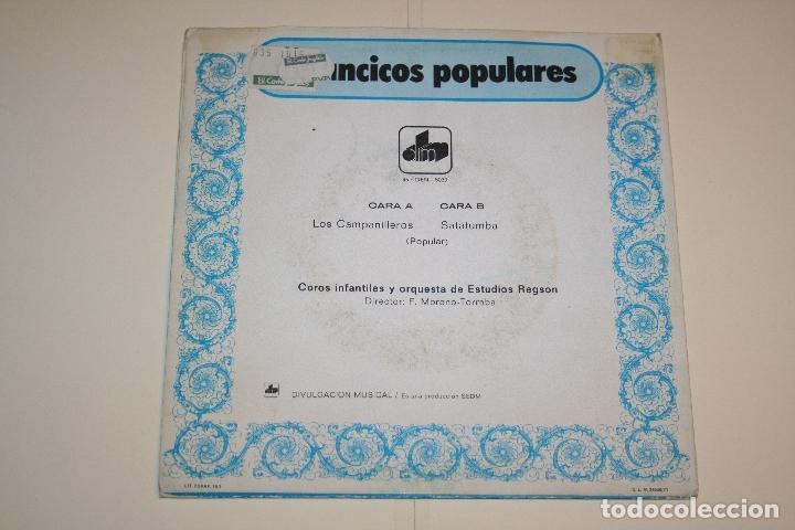 Discos de vinilo: VILLANCICOS POPULARES: Los Campanilleros + Satatumba *** SINGLE VINILO (1971) *** DIM *** - Foto 2 - 113352439