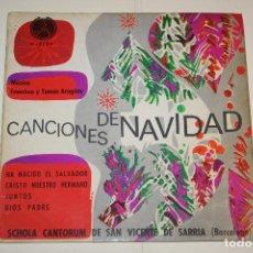 Discos de vinilo: CANCIONES DE NAVIDAD: HA NACIDO EL SALVADOR + DIOS PADRE + JUNTOS + ... *** SINGLE VINILO (1968) ***. Lote 113355555