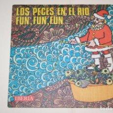 Discos de vinilo: VILLANCICOS (LOS PECES EN EL RÍO + FUN FUN) *** VINILO SINGLE (1968) *** IBERIA. Lote 113355883