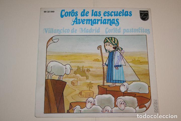 Discos de vinilo: COROS DE LAS ESCUELAS AVEMARIANAS *** VINILO SINGLE (1973) *** FONOGRAM *** - Foto 2 - 113356875