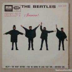 Discos de vinilo: THE BEATLES - HELP - DSOE 16.675 - ED. ESPAÑOLA 1965 1ª ED. 2º PRENSADO. Lote 113364711