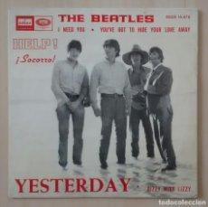 Discos de vinilo: THE BEATLES - YESTERDAY - DSOE 16.676 - ED. ESPAÑOLA 1966. Lote 113364907