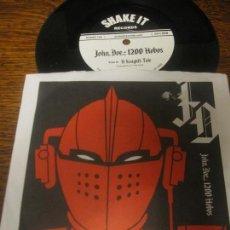 Discos de vinilo: JOHN DOE 1200 HOBOS ´BULLET PROOF` USA HIP-HOP. Lote 113366411