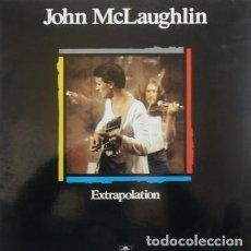 Discos de vinilo: JOHN MCLAUGHLIN * LP SPAIN PORTADA EXCLUSIVA 1990 * EXTRAPOLATION * SIN PINCHAR . Lote 113372763