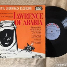 Discos de vinilo: LAWRENCE OF ARABIA LP 1963. Lote 113388179