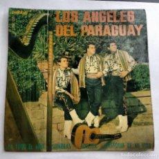 Discos de vinilo: LOS ANGELES DEL PARAGUAY / PA TODO EL AÑO + 3. Lote 159826789