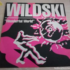 Discos de vinilo: WILDSKI– WONDERFUL WORLD. Lote 113392795