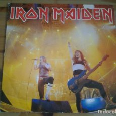 Discos de vinilo: IRON MAIDEN -RUNNING FREE- EP. 1985 EMI 12EMI 5532 ED. ORIGINAL INGLESA. Lote 113404507